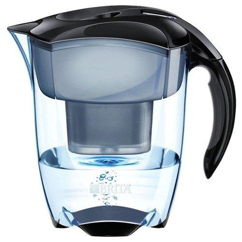 BRITA Elemaris Jarra 2.4L Negro - Filtro de Agua