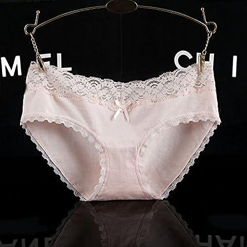 RRRRZ*Spitzenkante sexy Unterwäsche, 3 Punkt in der Taille Hosen Hosen und non-marking Unterwäsche , code , (Jungs Halloween Kostüme Uk)