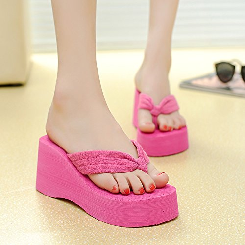ZPPZZP Ms sandali pantofole a tacco alto clip piedi 35EU