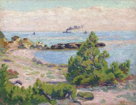 The Poster Corp Armand Guillaumin - Saint Palais Pointe De La Perriere Kunstdruck (27,94 x 35,56 cm)
