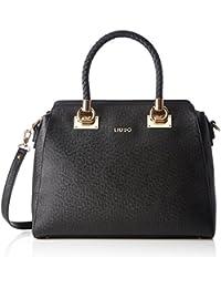 Liu Jo - Anna Shopper Large, Bolsos totes Mujer, Schwarz (Black), 13x29x30 cm (B x H T)