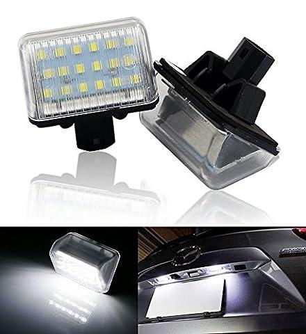 WIN Power Xenon Weiß LED Kennzeichenbeleuchtung für Mazda