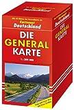 Die Generalkarten Deutschland Pocket, 10 Doppel-Blätter