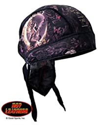 "Authentic Bikers Premium Headwraps, GOOD FAIRY, ""Ride Free"" - High Quality Micro-Fiber HEADWRAP"