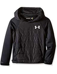 Under Armour UA swacket Insulated capucha Fitness de N9294, otoño/invierno, niño, color negro, tamaño M