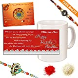 Designer Beads Rakhi. Gift Hamper 27108