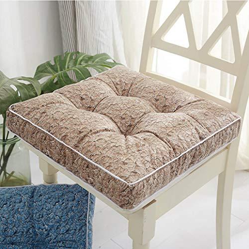 Kissen, DREI Größen Stuhlkissen Einfarbiges Sitzkissen Quadratischer Boden Tatami-Kissen Home Office