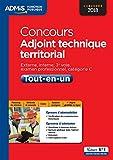 Concours Adjoint technique territorial - Catégorie C - Tout-en-un - Concours 2018