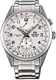 ORIENT Uhr Power Reserve white Datum Automatik Tachymeter Herrenuhr FFM03002W0