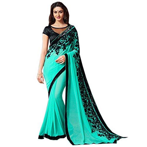 inhika-donne-bello-di-seta-georgette-saree-con-design-green-taglia-unica
