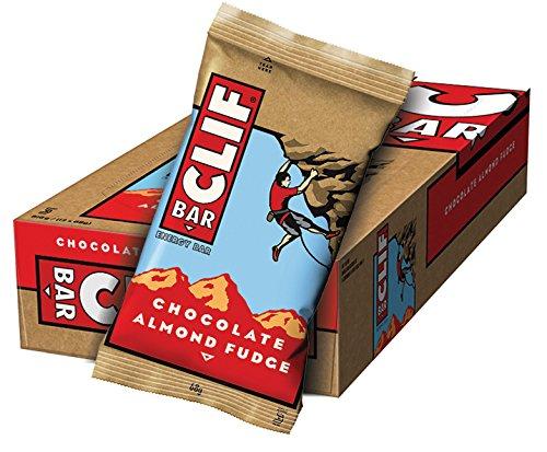 Clif Bar Barrita Energética de Avena y Chocolate con Almendras, (pack