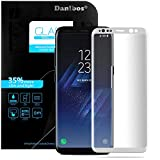Samsung Galaxy S8 Plus Pellicola Protettiva, Danibos 3D Full Cover Glass Screen Protector Protettiva Corazzato Pellicola di Vetro Dello Schermo Temperato Curvo Vetro di Protezione Protector Hardglass Proteggi per Samsung Galaxy S8 Plus(Bianca)