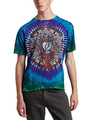 Liquid Blue Men's Grateful Dead Celtic Mandala tie-dye t-Shirt 24Months
