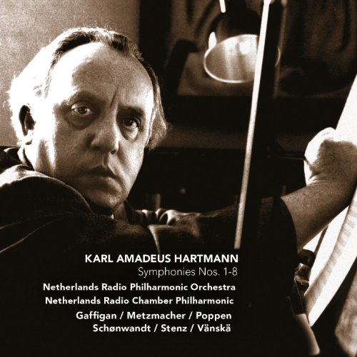 Hartmann: Symphonies Nos. 1-8 (4 3 2 1 5 8 7 6)