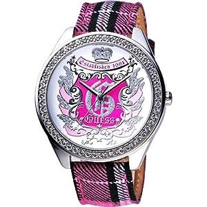 Guess Guess Trend 10110L2 - Reloj de mujer de cuarzo con correa textil multicolor de Guess