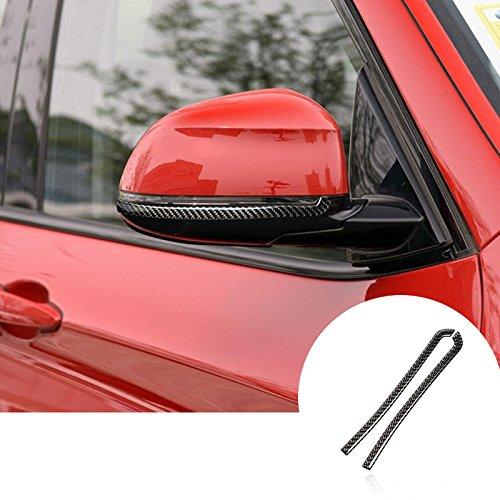 Karbonfaser Rückspiegel Außenspiegel Anti-Rub-Schutz Zierleisten 2Stk