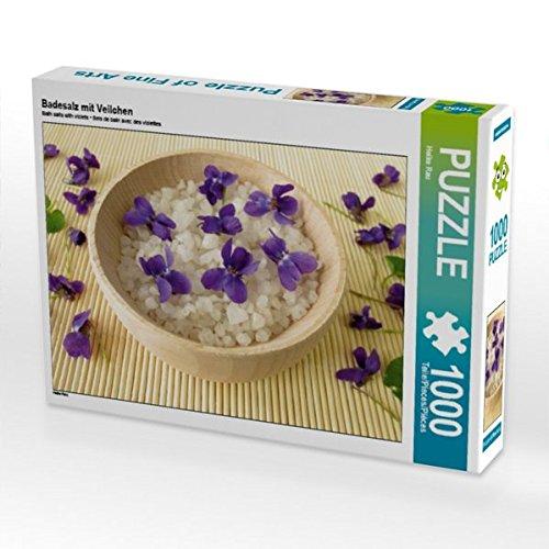Badesalz mit Veilchen 1000 Teile Puzzle quer (CALVENDO Gesundheit) (Aromatherapie-badesalz)
