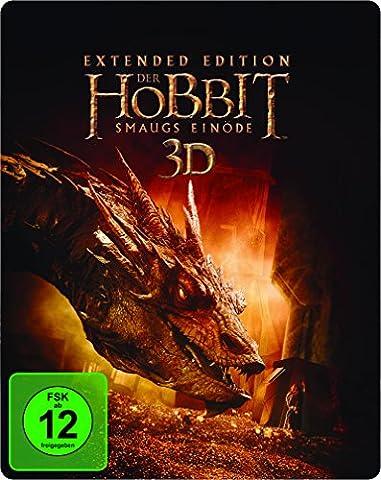 Der Hobbit: Smaugs Einöde Extended Edition 2D/3D BD Steelbook (exklusiv bei Amazon.de) [3D