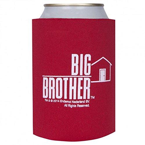 Cola Kostüm Dose - Big Brother Dosen und Flaschen Kühler , Bierkühler , ROT , Neu & originales Merchandise aus den USA