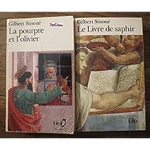2 titres : La pourpre et l'olivier - Le Livre de saphir --Folio--