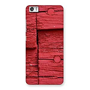 Red Nailed Wood Designer Back Case Cover for Xiaomi Redmi Mi5