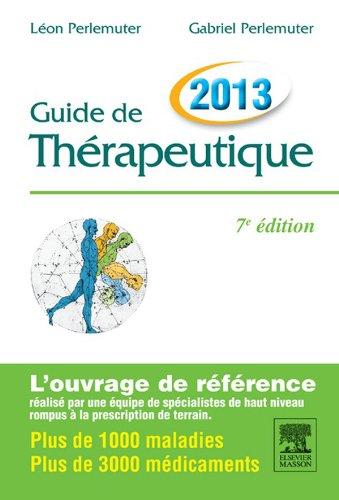 Guide de thrapeutique