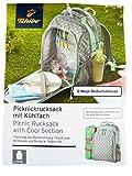 TCM Tchibo Picknickrucksack Picknick Rucksack mit Kühlfach / Kühltasche