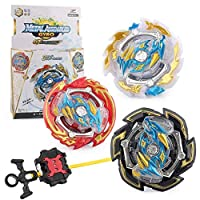 Christ For Givek Beyblade Burst GT Series Wrestling Masters Fusion Spinning Top Spinning Top Gyro and Launcher Plastic Rapidity Three in One B-133 Toy and Gifts Interesting for Kids
