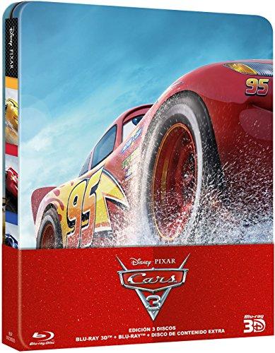 Cars 3 - Edición Metálica (Blu-ray 3D + Blu-ray) [Blu-ray]