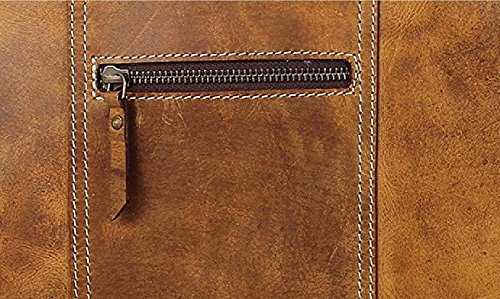 RusticTown , Borsa Messenger  marrone Brown small Brown