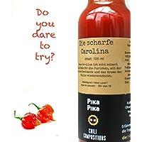 La Picante Carolina/Contenido: 100 ml/Nivel de picor: 10+ von 10 / Para Picanteros/Slow Food
