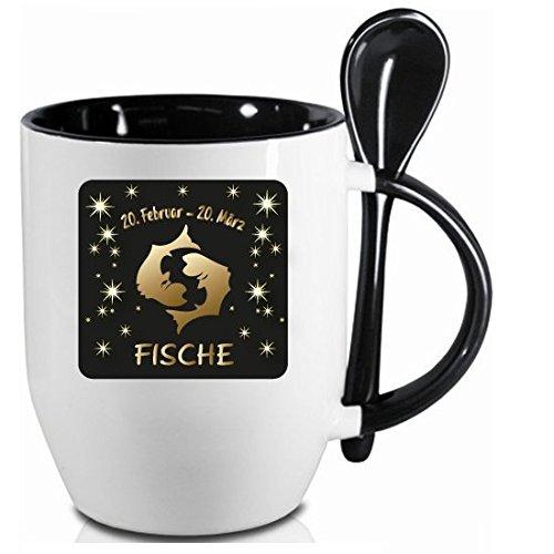 51BZK7ShyXL Sternzeichen Fische Kaffeetasse Becher Tasse