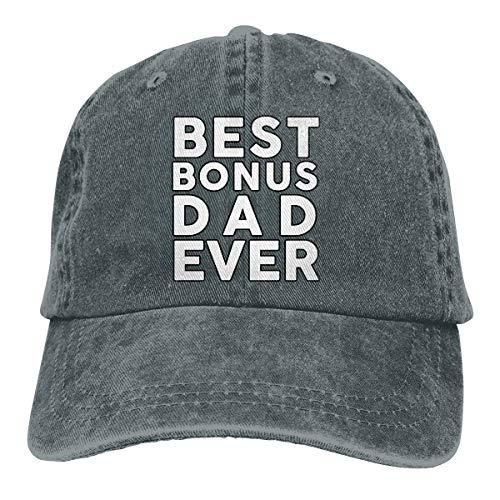 Oiup 089iuop Bester Bonus Papa Aller Zeiten L?ssige Unisex-Baseballm¨¹tzen Washed Cowboy Hat Adjustable Trucker Hat