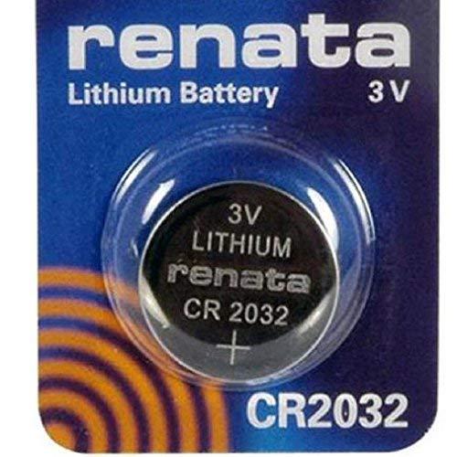 Renata CR2032 3V Lithium Münze Zelle Uhr Batterie DL2032, ECR 2032, BR 2032 (3 X CR 2032)