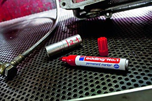 Edding No.1 schwarz Permanent Marker 1-5mm Keil
