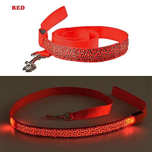 Camo Hot Shorts (PetFun Dog Fashion Trend Leopard Designer verstellbar blinkender LED Nylon Leine 120 cm lang, verschiedene Farben)