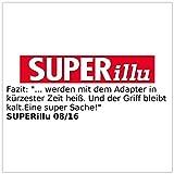Rosenstein & Söhne Induktions Adapterplatte: Universal-Adapterplatte für Induktionskochfelder, 24 cm (Induktion Adapter) - 6