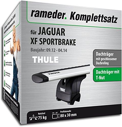 Rameder Komplettsatz, Dachträger WingBar für Jaguar XF SPORTBRAKE (114661-10547-1)