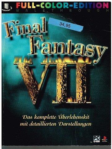 Final Fantasy VII - das komplette Überlebenskit .... Lösungsbuch 9783980582155