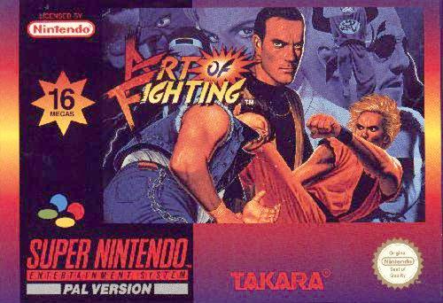 Art of fighting - Super Nintendo - PAL