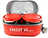 Milton Executive Series 3 Container Lunch Box (Red)