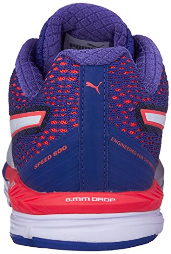 Puma Speed 600 Ignite Synthétique Baskets Red Blast-Royal Blue-White