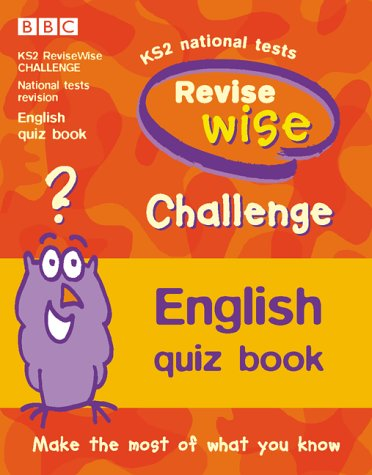 Revisewise Challenge English Quiz Book