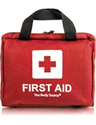 Erste-Hilfe-Set mit Kühlakkus, Augenspülung und Rettungsdecke 90-teilig