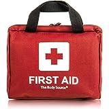 Kit di primo soccorso di 90 pezzi con ghiaccio pronto uso, kit lavaggio oculare e coperta d'emergenza