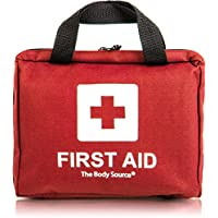 The Body Source FA-90R, 90 Piece Premium First Aid Kit Bag - Includes Eyewash, 2 x Cold (Ice) Packs and Emergency Blanket for Home, Office, Car, Caravan, Workplace, Travel (Health & Personal Care)
