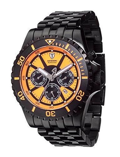 DETOMASO Herren-Armbanduhr San Analog Automatik DT1065-B