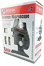 Adichai Educational Toy Real Working Science Microscope Refined Scientific Instruments For Children - Multi Color