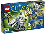 Lego Legends of Chima 66491 Superpack 5 in 1 (70126 + 70128 + 70129 + 70130 + 70131) - LEGO