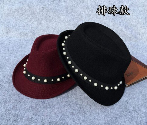 Winter Hat Knit Russian Cute Trapper Warm Cool Girl Women Cowboy Pearls